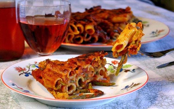 Pasta al forno con fagiolini IMGP9921 1
