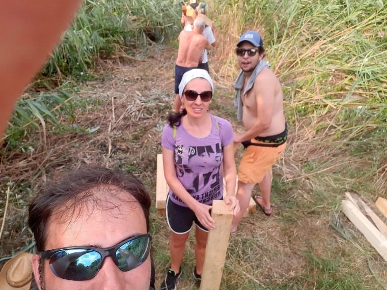 atanasovsko lake team work 1