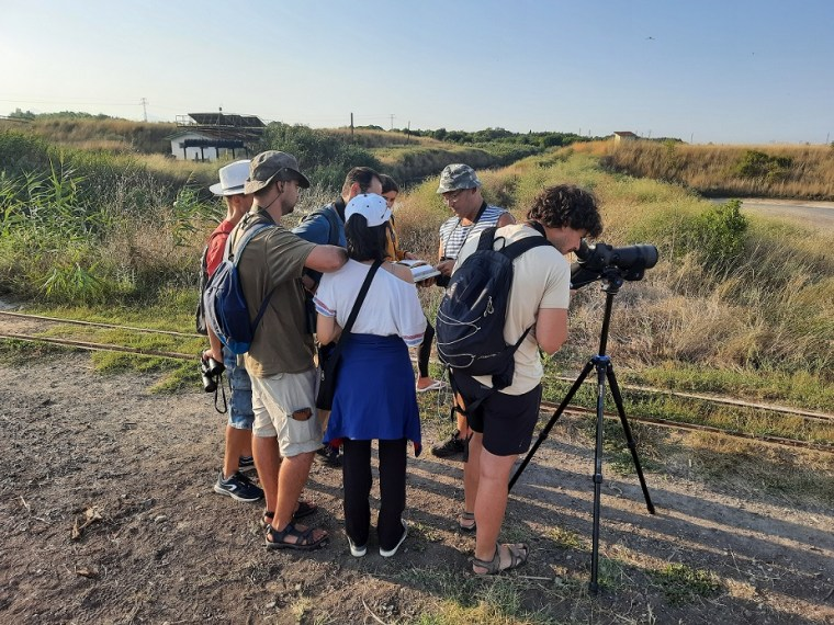 birdwatching camp atanasovsko lake 2021