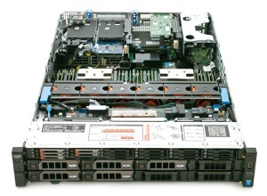 Dell PowerEdge R730XD inside