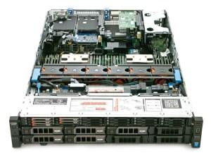 Dell PowerEdge R730XD inside