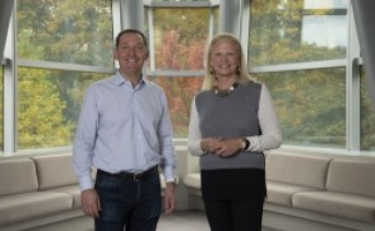 Jim Whitehurst, president and CEO, Red Hat with Ginni Rometty, chairman, president & CEO, IBM