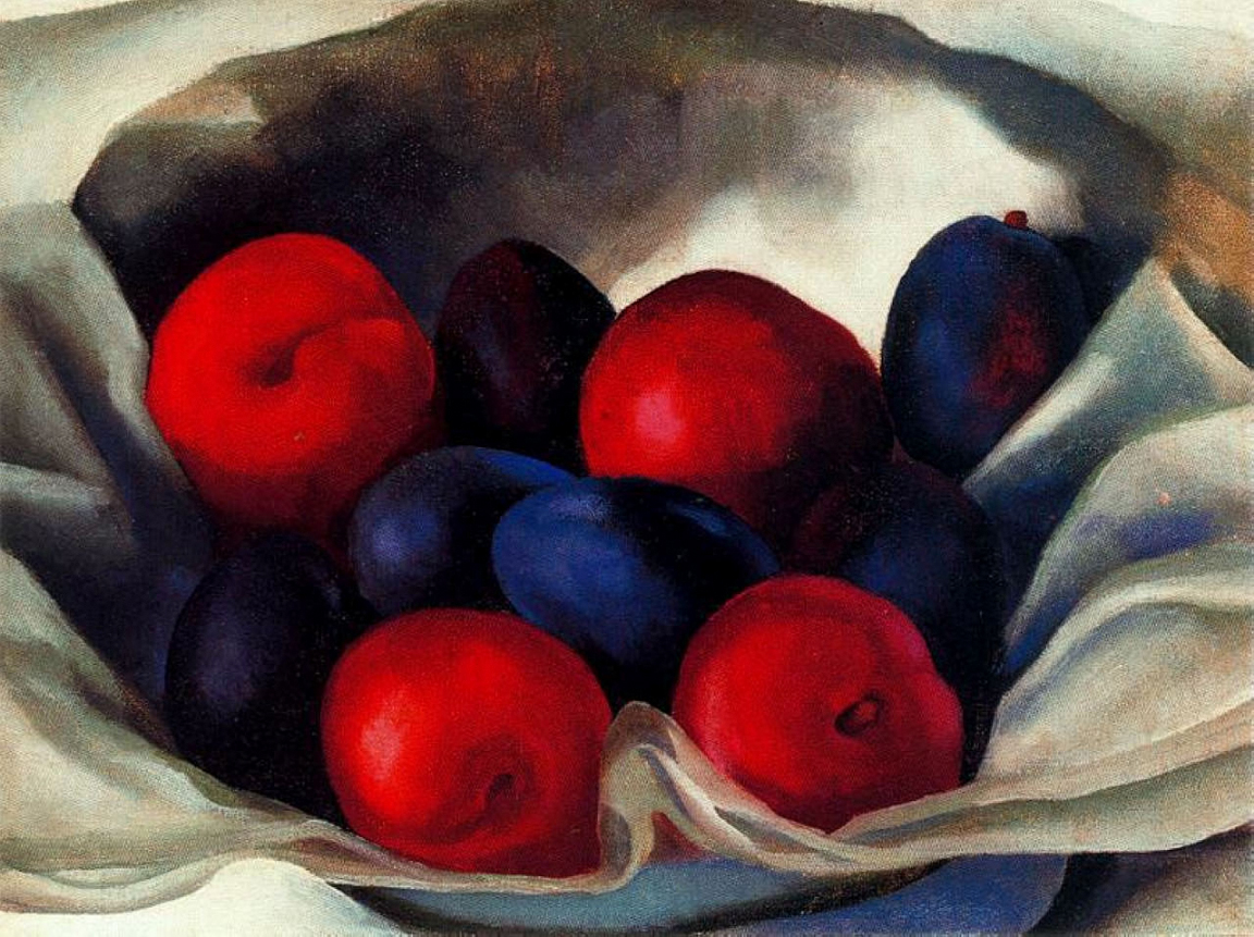 Georgia-O-KEEFFE-Plums-1920-insight-coaching-art, maturity