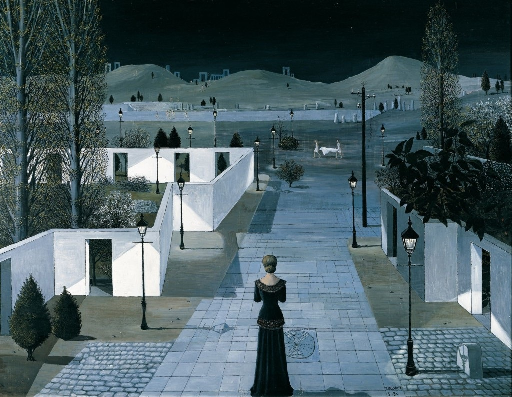 Paul Delvaux, insight, coaching, dopamine, plaisir