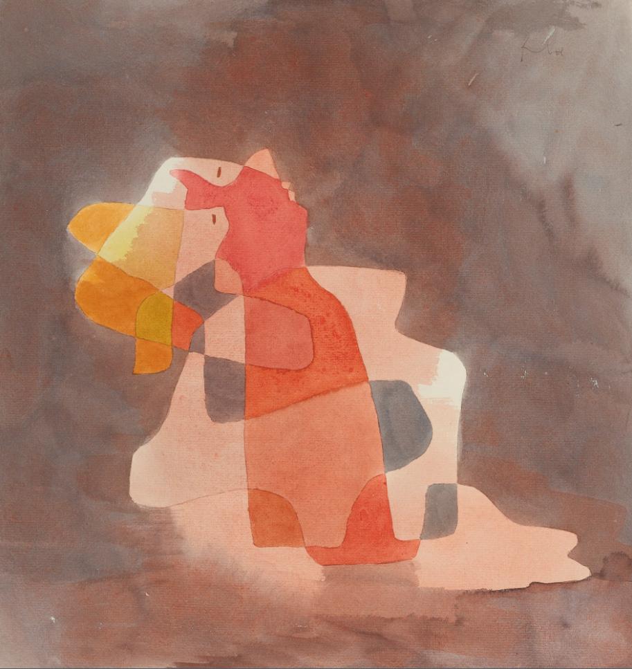Paul Klee, art, Zurücklehnende, vision, coaching, understanding, insight