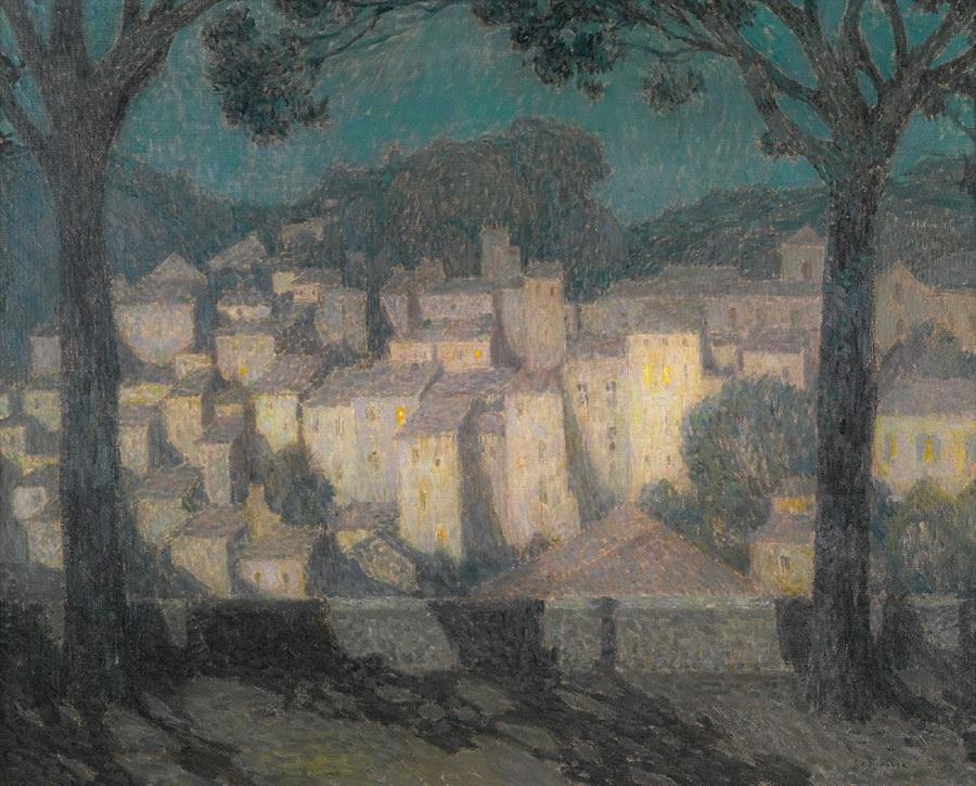 le sidaner, paysage, village, clair de lune, moonlight, insight, coaching, moon