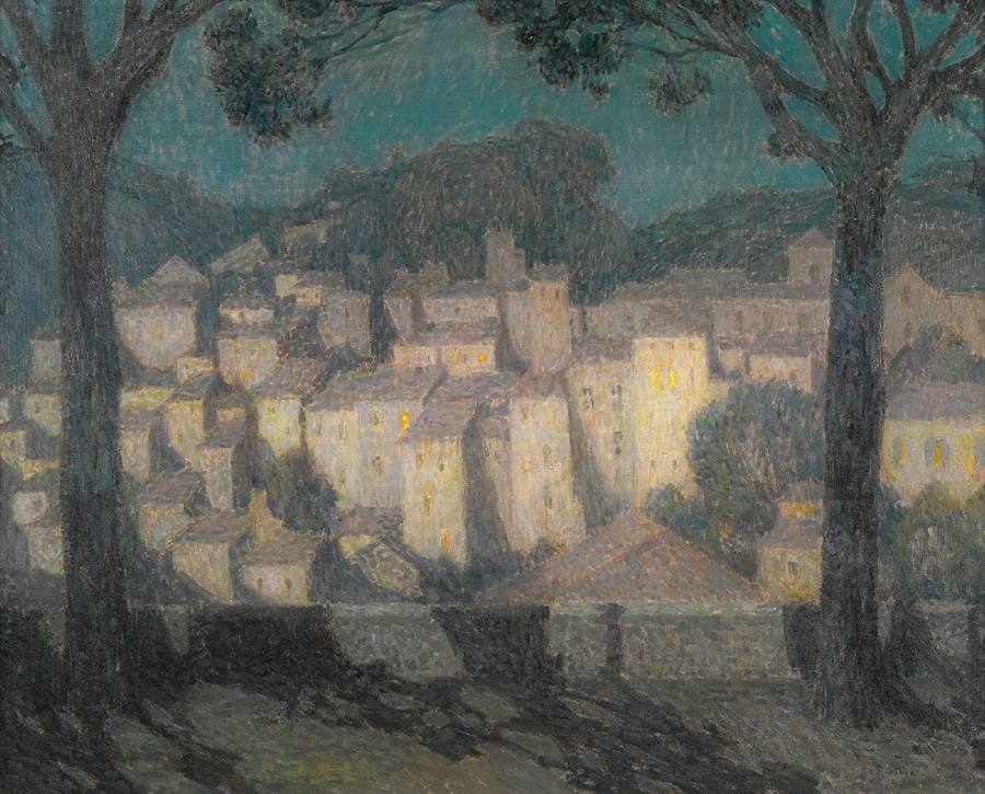 le sidaner, paysage, village, clair de lune, moonlight, insight, coaching, moon