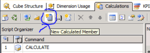 SSAS Analysis services new calculated measure