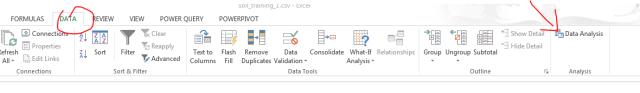 Excel Data Analysis Descriptive Statistics