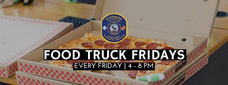 Food Truck Fridays at Elkridge Volunteer Fire Department