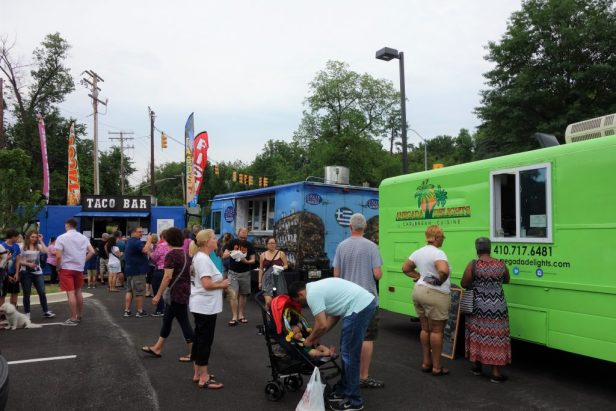Food Truck Fridays and Elkridge Volunteer Fire Department