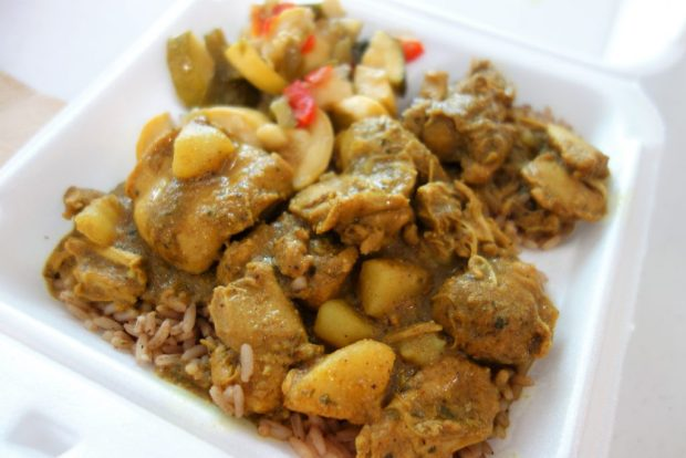Curry Chicken from Anegada Delights