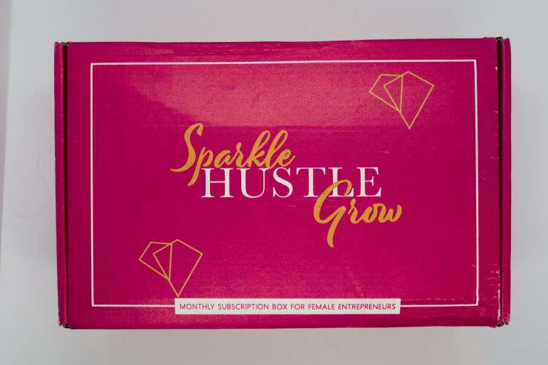 July 2018 Sparkle Hustle Grow Subscription Box Review + $5  Off Your First Box!