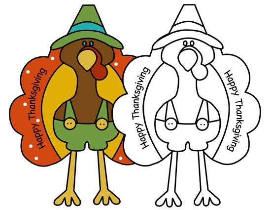 turkey coloring pages for turkey day insightful nana