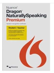 Dragon Naturally Speaking, best known third party STT software.