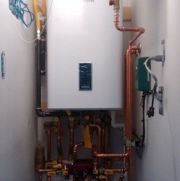 Navien Combi – Tight space for a boiler!