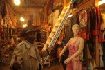 """Shops at """"Bazar Vest"""" are usually packed and colorful, giving the visitor a feeling of Middle Eastern and African traditions, culture and arts."""