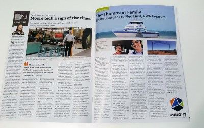 Family Dynasties – The Thompson Family, From Blue Seas to Red Dust, a WA Treasure