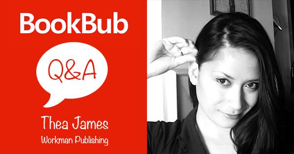 BookBub Workman Thea James Interview