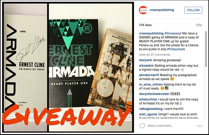 Crown Publishing Instagram