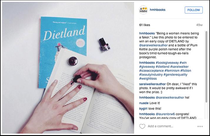 Houghton Mifflin Harcourt Instagram