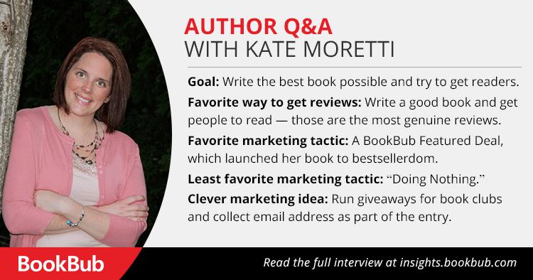 Kate Moretti BookBub Interview