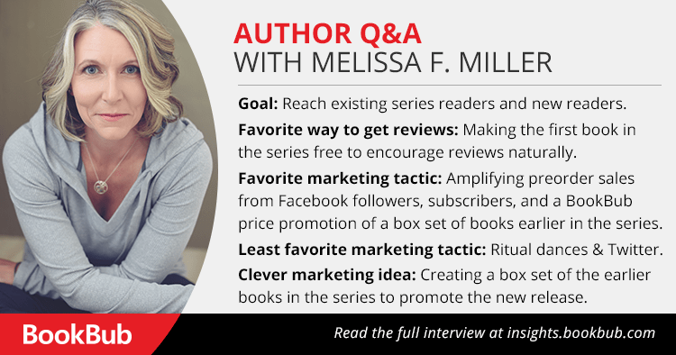 BookBub Interview with Melissa Miller