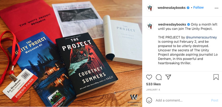 Book Swag Instagram