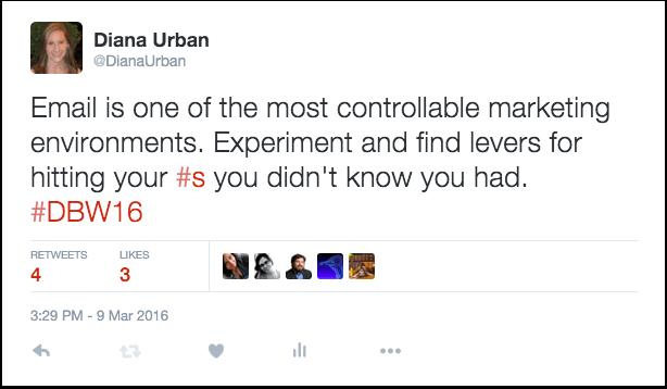 Diana Urban Tweet