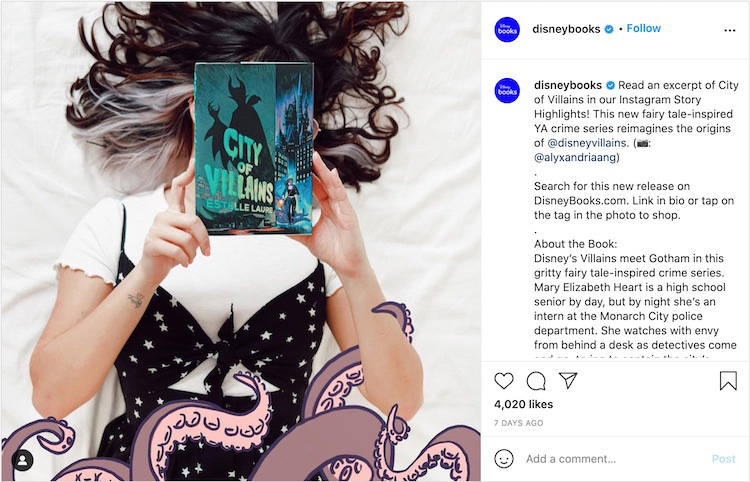 Relevant Props Publisher Bookstagram