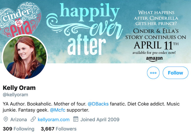 Kelly Oram Twitter Header