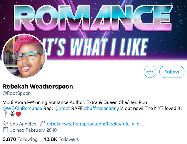 Rebekah Weatherspoon Twitter Header
