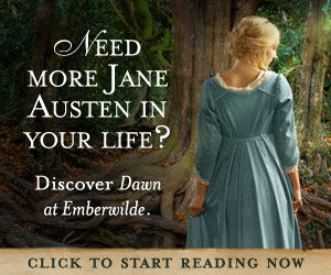 Ad for Dawn at Emberwilde