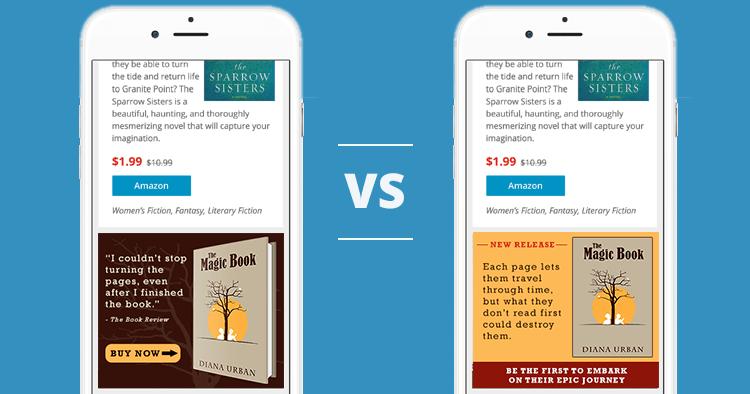 BookBub Ads A/B Test