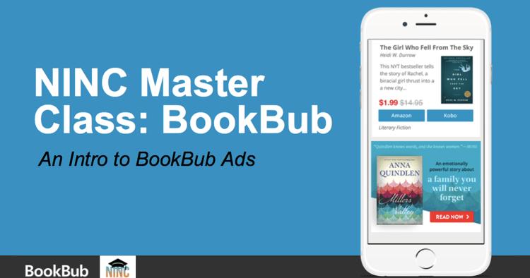 NINC Master Class - BookBub Ads