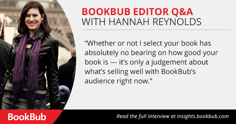 Q&A With BookBub Editor Hannah Reynolds