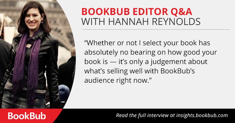Q&A With BookBub Editor Hannah Reynolds