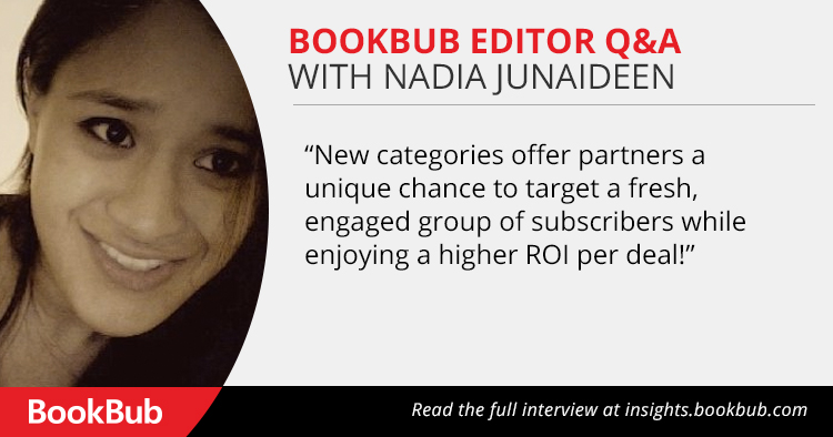 Q&A With A BookBub Editor on Launching New Categories