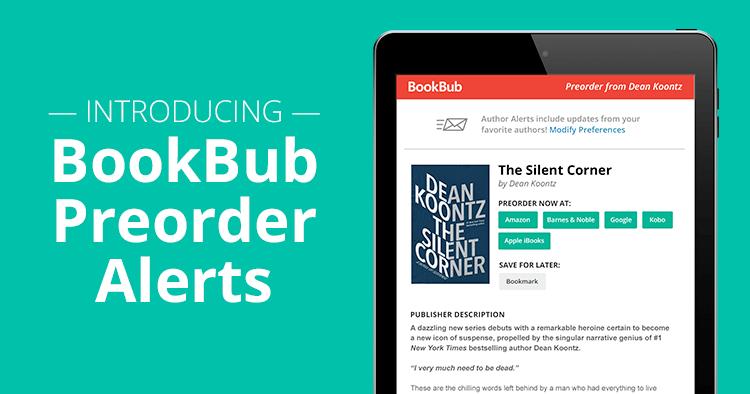 Introducing BookBub Preorder Alerts