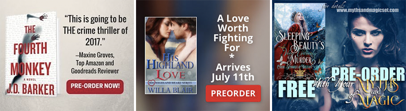 BookBub Ads preorder campaign examples