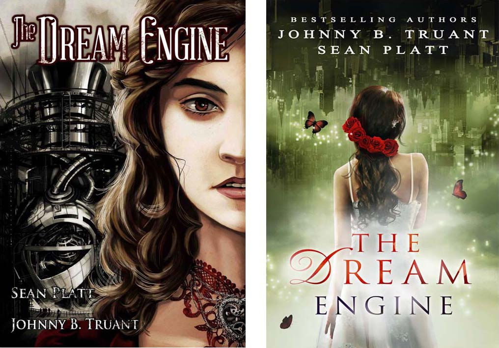 The Dream Engine - Book Cover Redesign