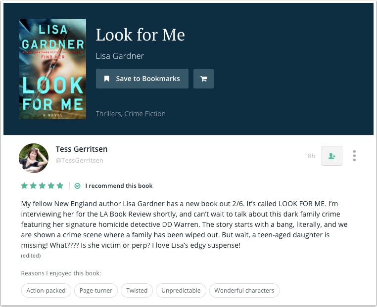 BookBub Recommendation