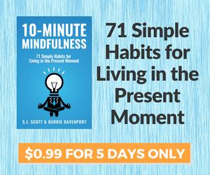 BookBub Ad: 10 Minute Mindfulness