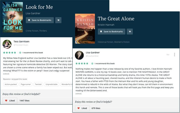 BookBub Recommendations