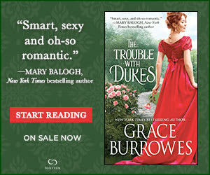 BookBub Ad: The Trouble with Dukes