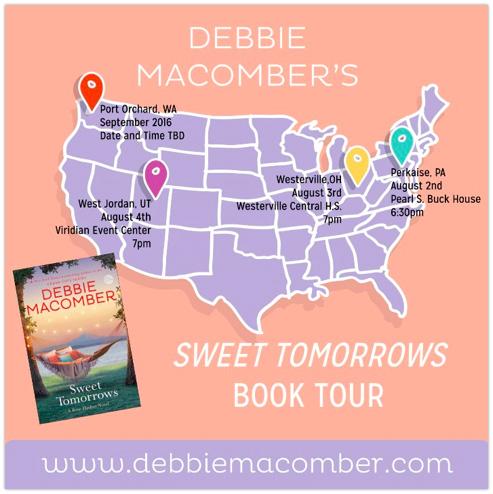 Book Tour Map