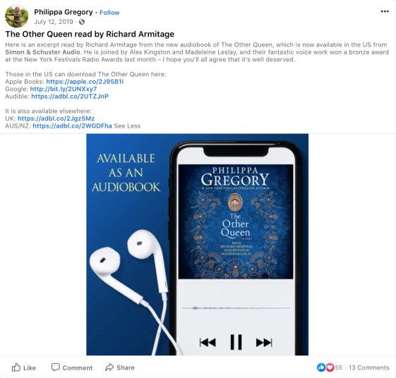 Facebook Audiobook Excerpt