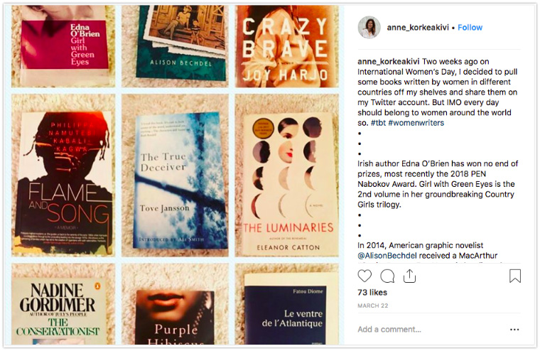 Instagram Book Rec