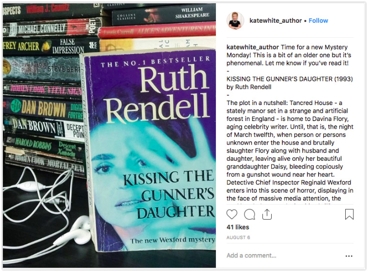Instagram Book Recommendation