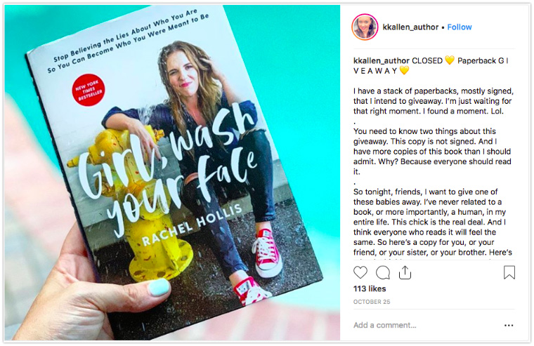 Instagram Book Suggestion